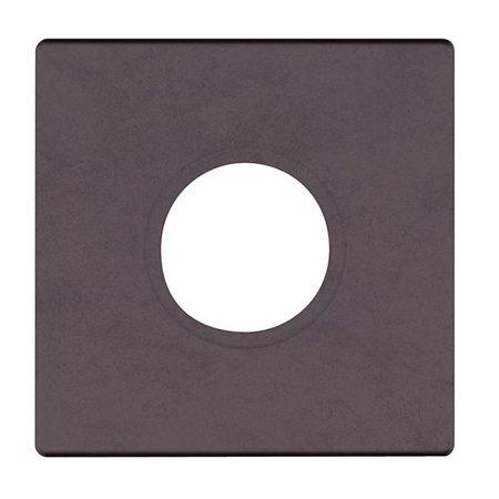 Venetian Bronze Estate (Baldwin R017112PV 2.62 in. Pair of Estate Rosettes for Privacy Functions - Venetian)