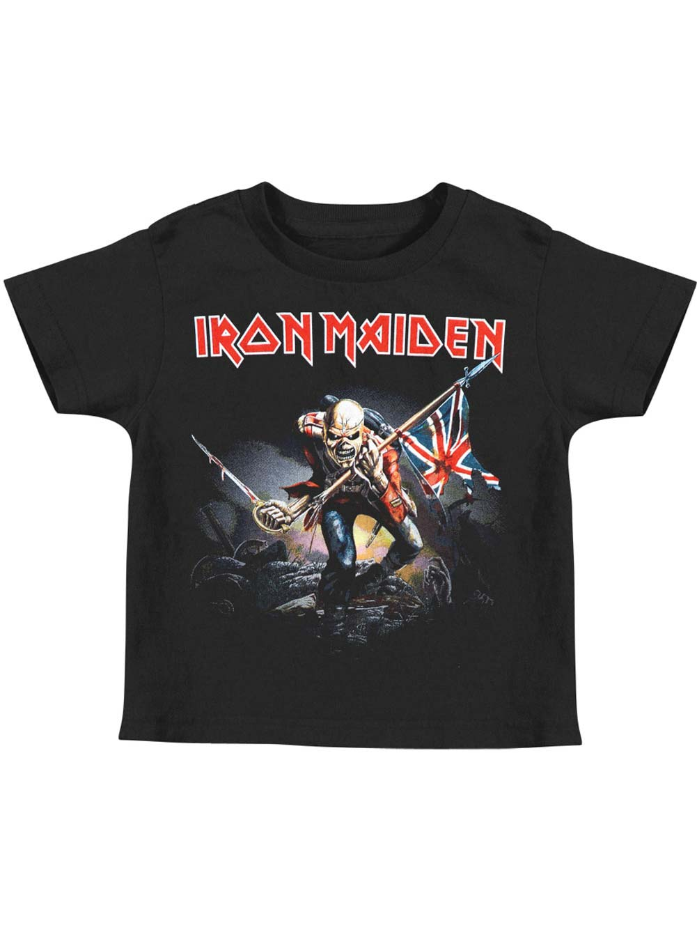 Authentic IRON MAIDEN The Trooper Kid Toddler T-Shirt 2T 3T 4T NEW