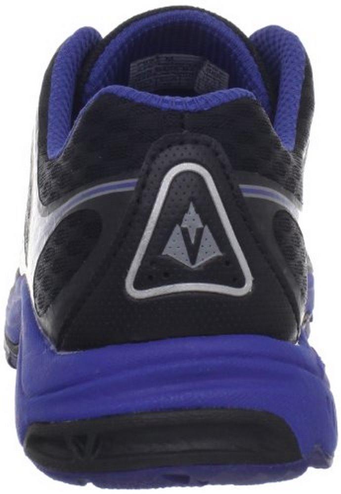 Vasque Men's Pendulum Trail Running Shoe,Jet Black Sodalite Blue,7 M US by