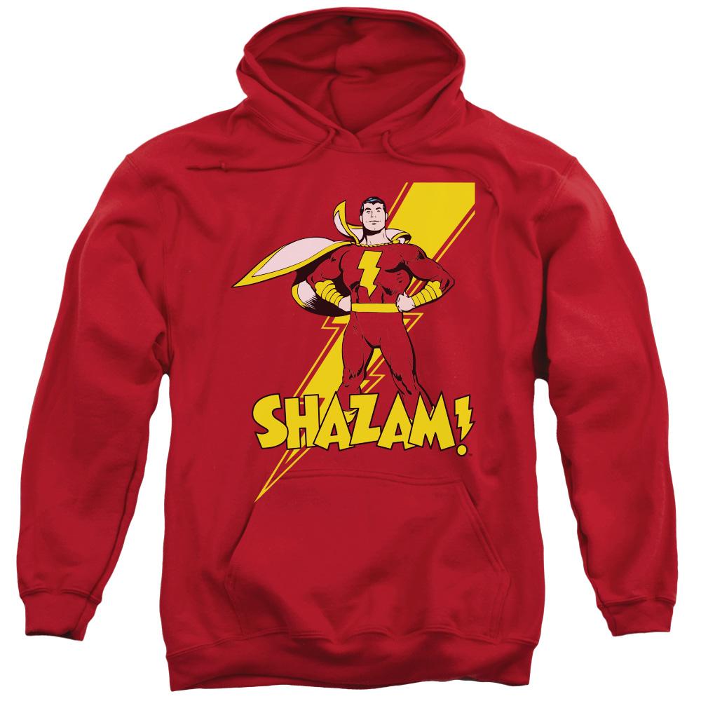 DC Comics Shazam! Mens Pullover Hoodie