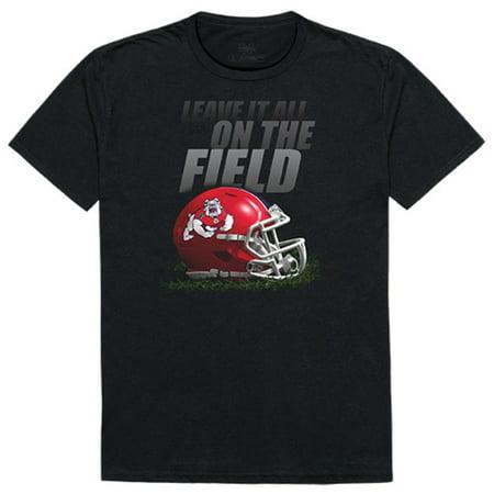 State University Bulldogs - Fresno State University Bulldogs Gridiron T-Shirt