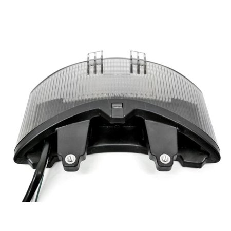 Smoke LED Tail Light Integrated with Turn Signals For 2011 Triumph Street Triple - image 2 de 3