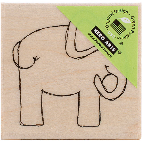 "Hero Arts Mounted Rubber Stamps 2.75"" x 2"""
