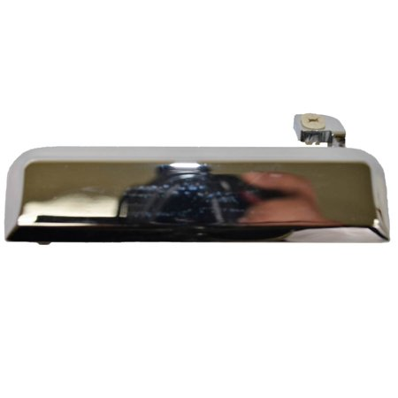 PT Auto Warehouse FO-3084M-LH - Outer Exterior Outside Door Handle, Chrome - Driver Side