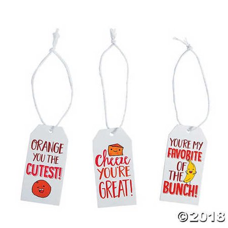 - Healthy Valentine's Day Gift Tags