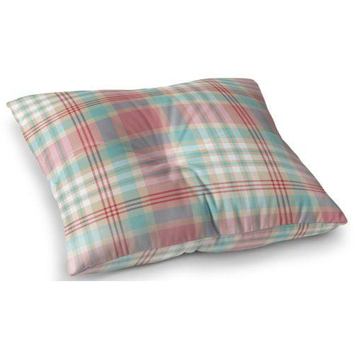Darby Home Co Belliere Plaid Indoor/Outdoor Floor Pillow