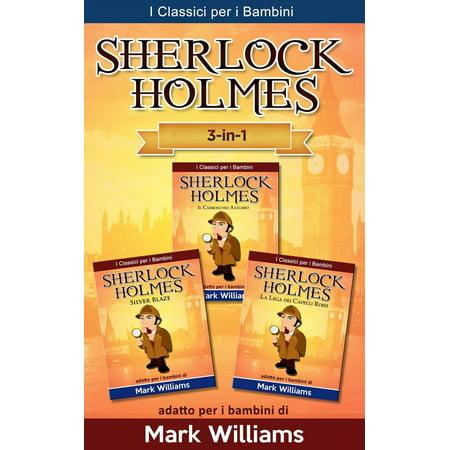 Halloween Songs Per Bambini (Sherlock Holmes per bambini: Il Carbonchio Azzurro, Silver Blaze, La Lega dei Capelli Rossi -)