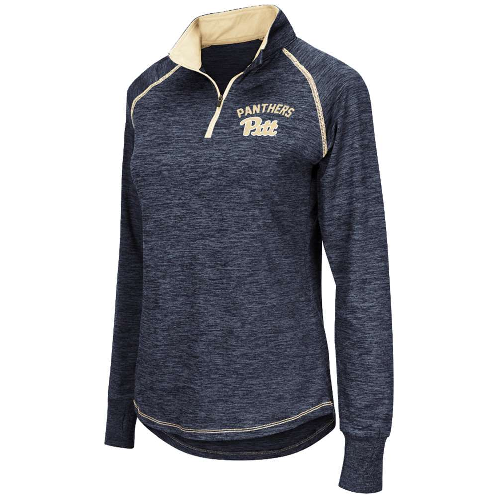 Pittsburgh Panthers Women's Colosseum Bikram 1 4 Zip Jacket by Colosseum