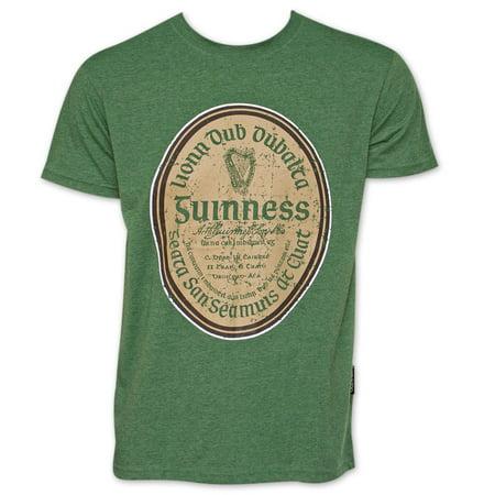 Guinness Gaelic Label TShirt - Green - Guinness Halloween