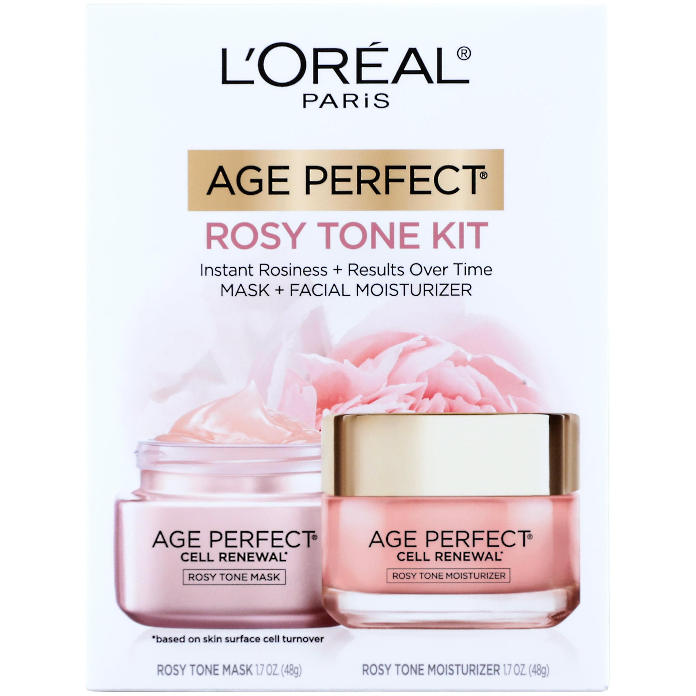 L'Oreal Paris Age Perfect Cell Renewal Rosy Tone Kit