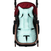 Baby Stroller Cotton Pad Child Dining Chair Cushion High Chair Seat Pad Baby Safety Seat Pad Wave Pattern Pad for Car Seat & Stroller