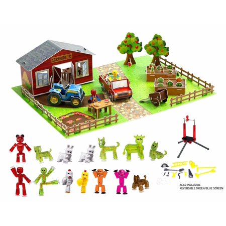 Stikbot Deluxe Movie Set - Farm Scene
