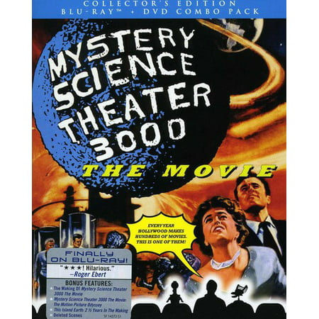 Mystery Science Theater 3000: The Movie (Blu-ray + Blu-ray) - Halloween Themed Movie Theater