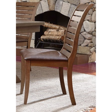 Backside Chairs (Liberty Furniture Industries Bayside Crossing Upholstered Dining Side Chair - Set of)