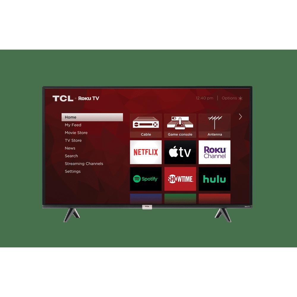 "TCL 43"" Class 4-Series 4K UHD HDR Roku Smart TV - 43S435"