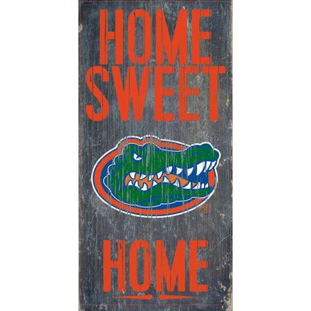 Florida Gators 6'' x 12'' Home Sweet Home Sign - No Size