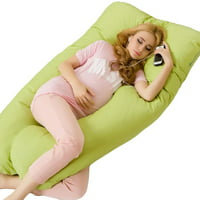 Full Body Pillow - U Shaped Bed Pillow for Men & Women by TOPCHANCES , Green