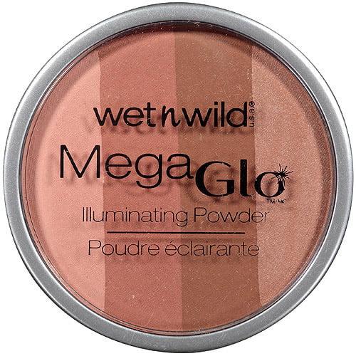 Wet n Wild MegaGlo Illuminating Powder, 347 Spotlight Peach, 0.32 oz