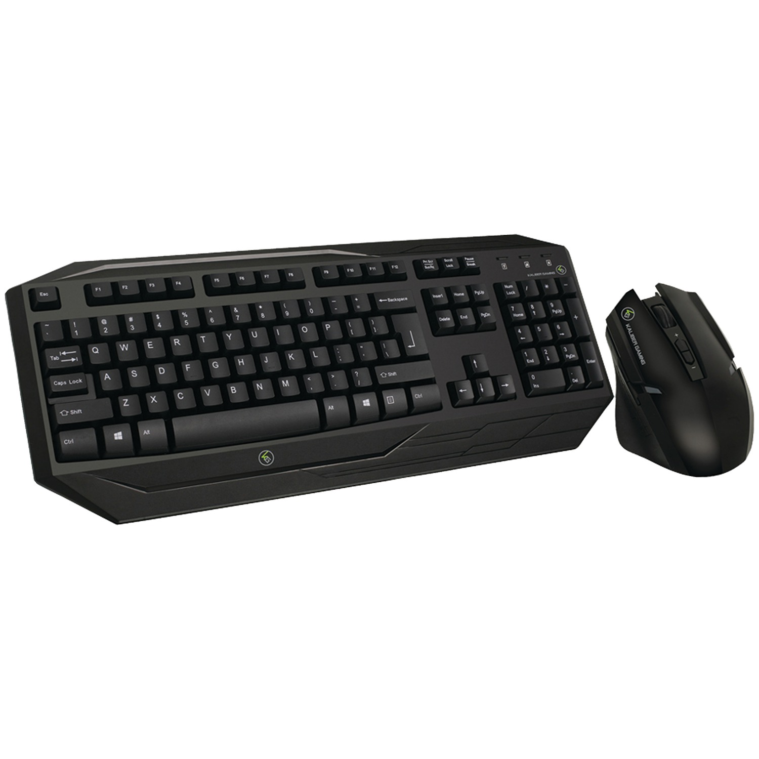 Iogear Gkm602r Kaliber Gaming Wireless Gaming Keyboard & Mouse Combo by IOGEAR