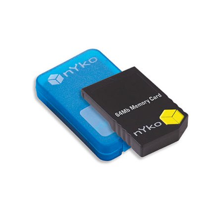 64MB GameCube Memory Card (64 Mb Edo Memory)