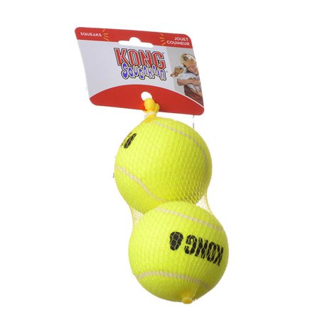 Kong Air Kong Squeakers Tennis Balls Large