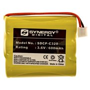 Synergy Digital Cordless Phone Battery - Replacement for GP GP60AAS3BMJ Cordless Phone Battery