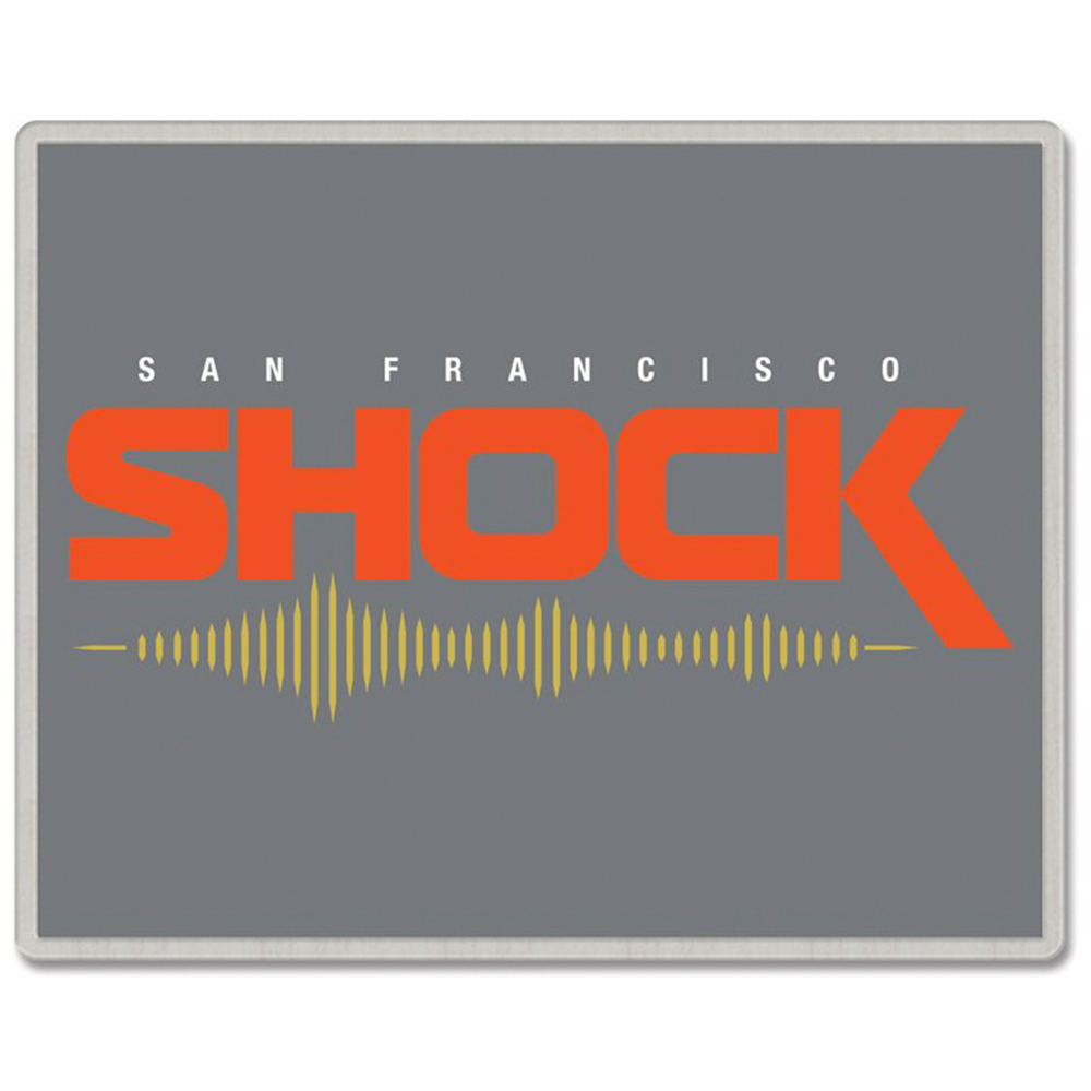 San Francisco Shock WinCraft Rectangle Pin - No Size