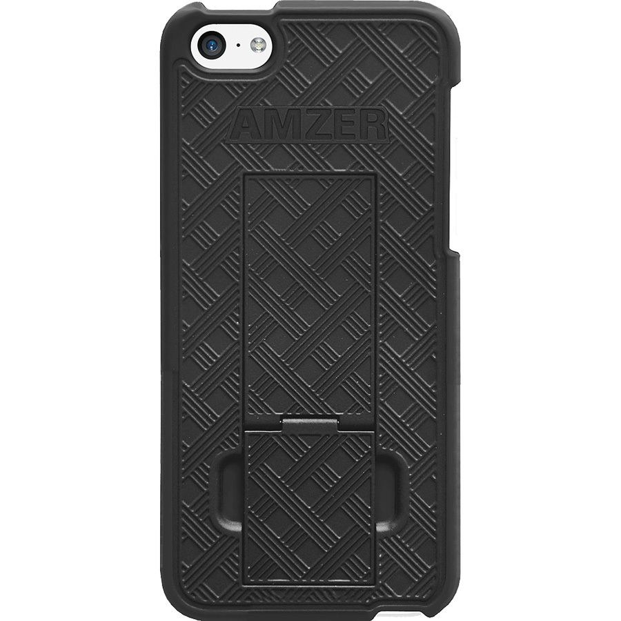 Amzer Snap On Case With Kickstand - Blac