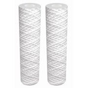 DuPont Universal Whole House String Wound Cartridge Replacement Filter, 2-pk