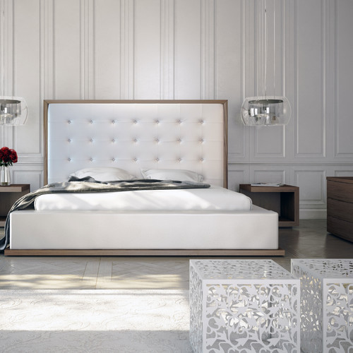 Modloft Ludlow Upholstered Platform Bed