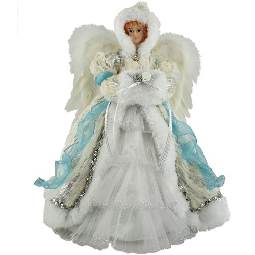 The Holiday Aisle 12'' Winter Angel Tree Topper