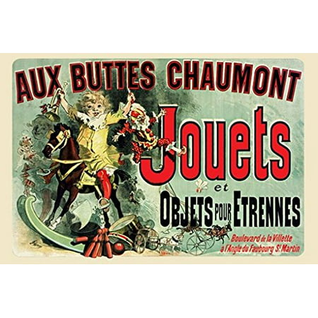 Jouets Poster Famous French Vintage Print In Friends TV Show New 24x36 ()