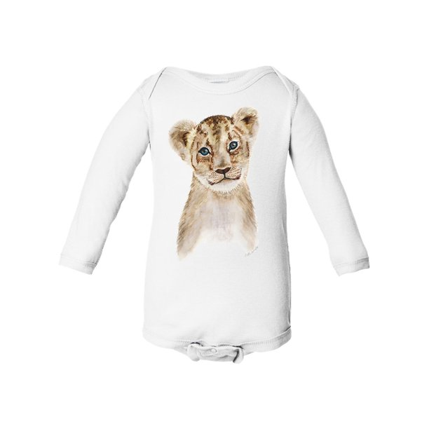 Lion Baby Boy Girl Long Sleeve Cotton Jumper