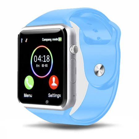 T1 Bluetooth Smart Watch Wrist Watch with Camera For iPhone Android Smart Phones