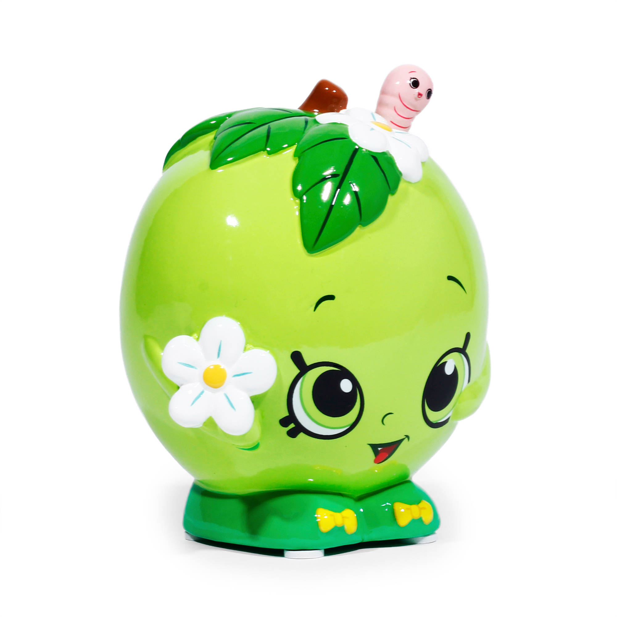 Shopkins Apple Blossom Bank With Molded Apple Body