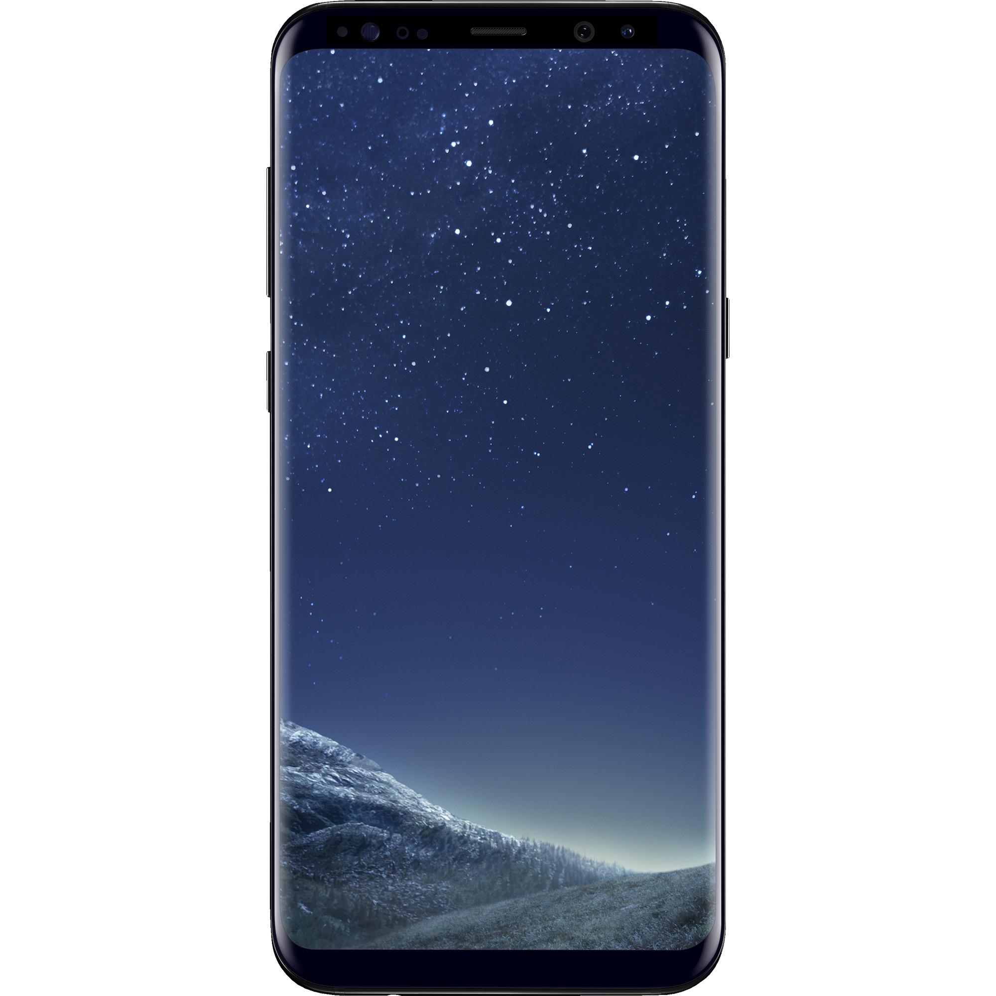 Walmart Family Mobile Samsung GS 8+ Prepaid Smartphone, Black
