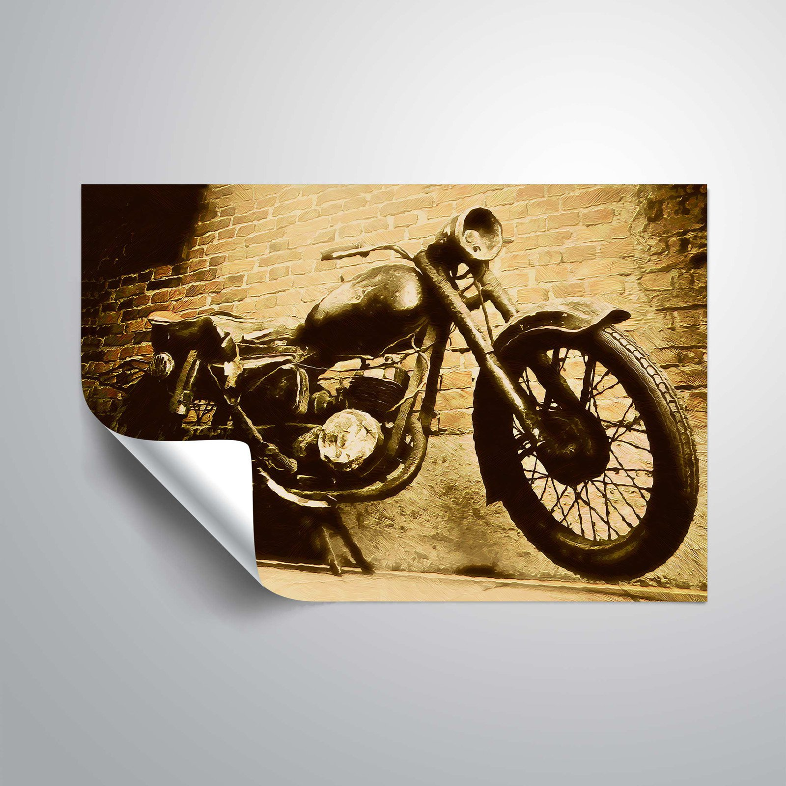 Amazing Metal Motorcycle Wall Art Model - The Wall Art Decorations ...