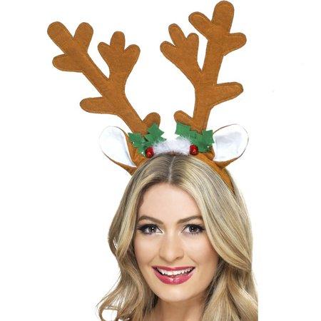 Light Up Reindeer Antlers Christmas Costume Headband - Make Reindeer Costume