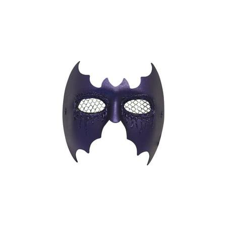 Success Creations Batz Purple Halloween Bat Mask
