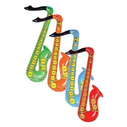 Inflatable Saxophone - 1 Pc, Inflatable Saxophone - 1 Pc By 5StarTD