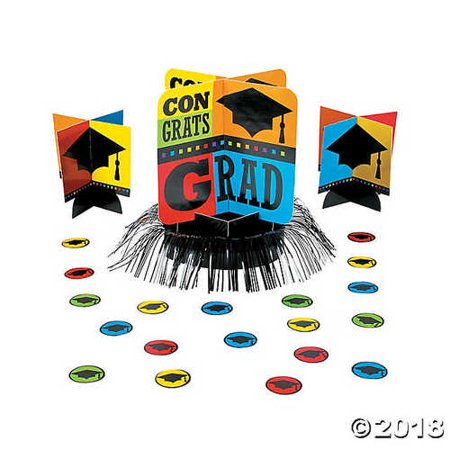 Graduation Table Decorations Ideas (Congrats Grad Graduation Party Table D¨¦cor)
