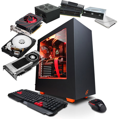 CyberPowerPC 'Built to Order' Gaming Desktop Bundle - Select Processor, Case, Memory, Hard Drive, and more