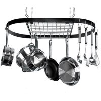 Deals on Kinetic Classicor 12 Hook Iron Pot Rack