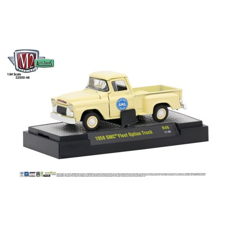 M2 Machines Auto Thentics 1:64 1958 GMC Fleet Option Truck - Panama Cream