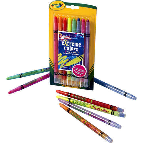 Crayola Twistables eXtrem Colors Crayons CYO529738