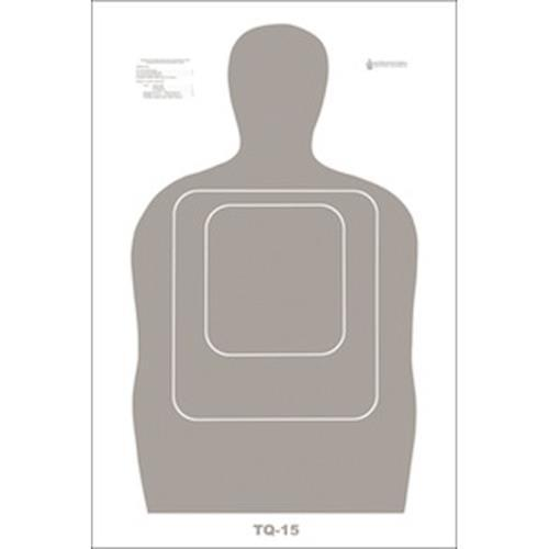 US Customs & Border Protection Qualification Heavy Paper Target Pack of 10 by