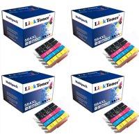 LinkToner 4 sets 20pcs 564XL Ink Cartridge Remanufactured Compatible Replacement for Printer 564 XL Ink Cartridges 5 Colors