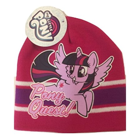 46be4e7d ABG Accessories - ABG Accessories My Little Pony Pony Quest Beanie Hat,  Pink & Purple - Walmart.com