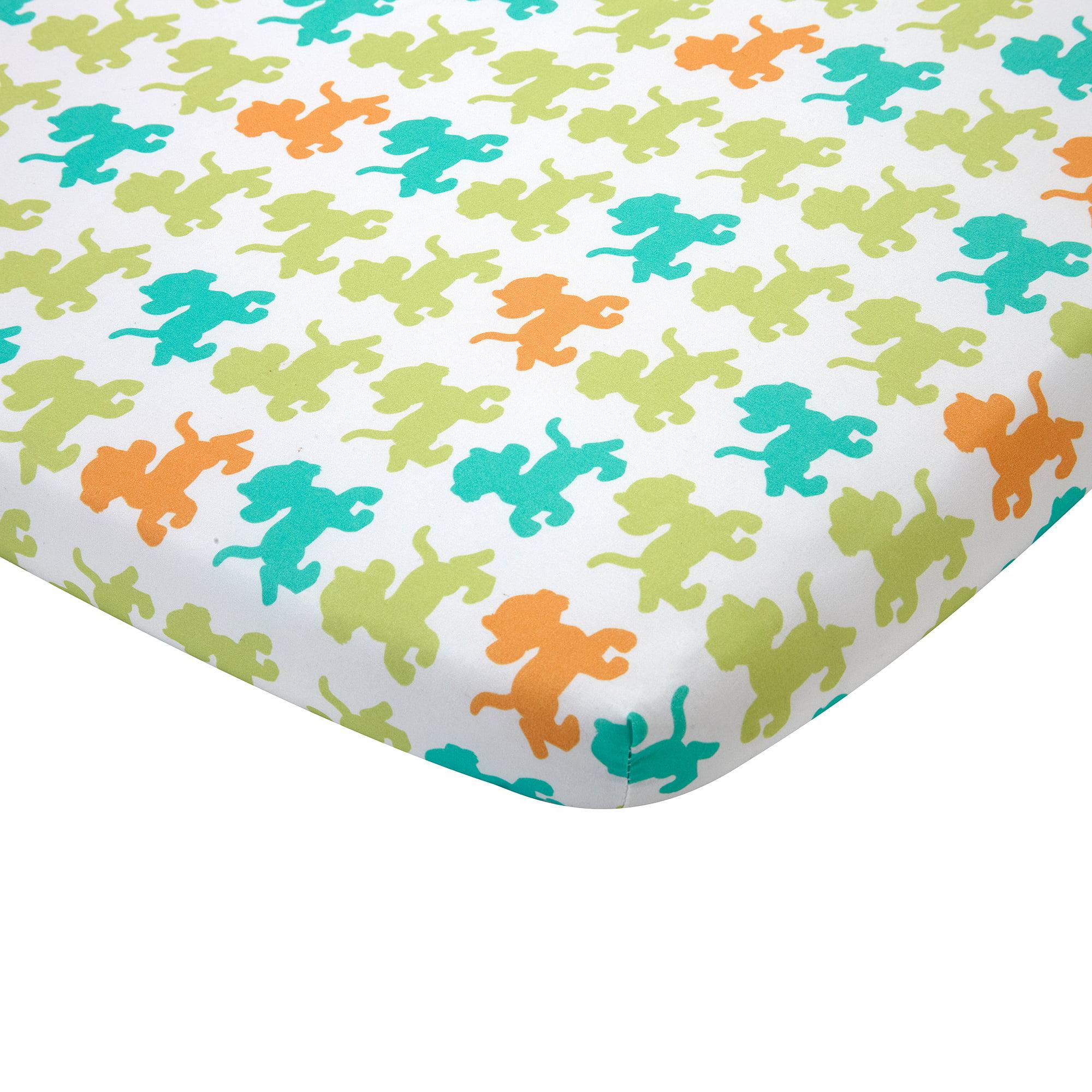 Disney Baby Bedding Lion King 3-Piece Portable Crib Bedding Set