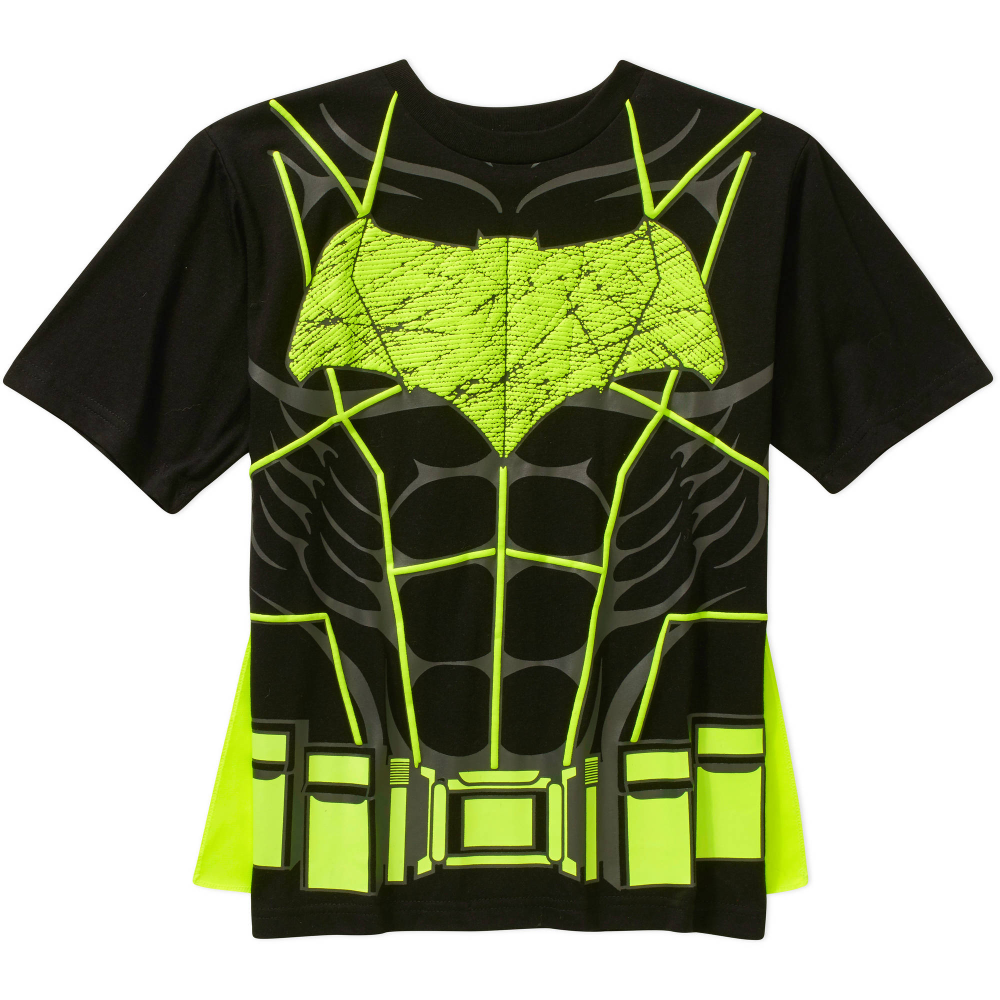 DC Comics Batman Boys Short Sleeve Cape Graphic Tee